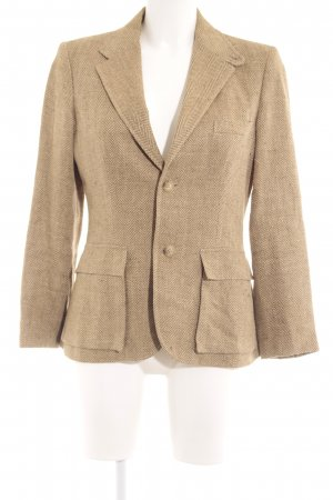 Ralph Lauren Long-Blazer hellbraun Casual-Look