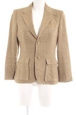 Ralph Lauren Blazer largo marrón claro look casual