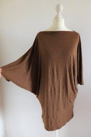 Ralph Lauren Longpulli Fledermausärmel Shirt braun Gr. M 36 38 top