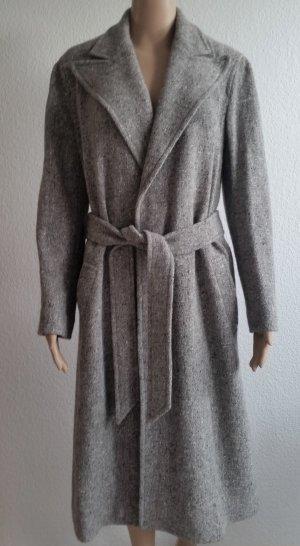 b3d02248d8cff2 Ralph Lauren Cappotto in lana grigio chiaro Tessuto misto