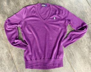 Ralph Lauren Wool Sweater dark violet
