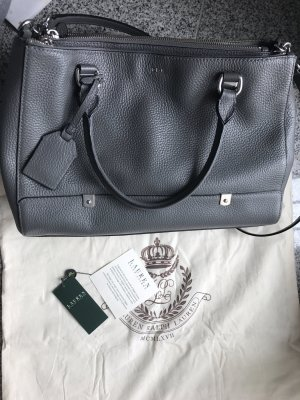 Ralph Lauren Morrison Triple-zip Satchel Tasche Business Look Neu