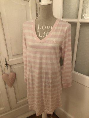 Ralph Lauren Nachthemd rosa weiß gestreift