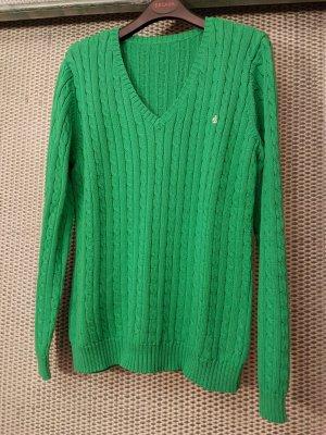 RALPH LAUREN # NEUER PULLI # smaragdgrün # D 40/D42