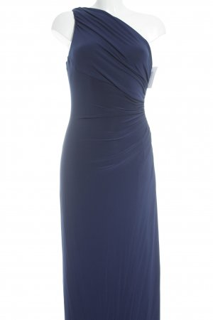 Ralph Lauren One-Shoulder-Kleid blau extravaganter Stil