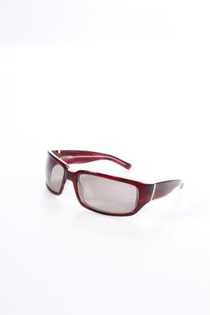 Ralph Lauren ovale Sonnenbrille brombeerrot Eleganz-Look
