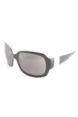 Ralph Lauren Ovale zonnebril zwart casual uitstraling
