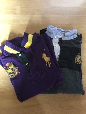 Ralph Lauren Paket aus zwei Polohemden XS & S