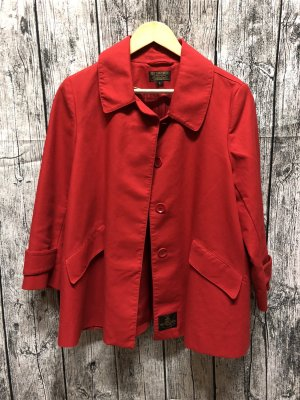 Ralph Lauren Trench Coat red
