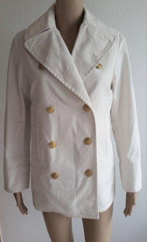 Ralph Lauren, Pea Coat, Baumwolle, weiß, XS, neu