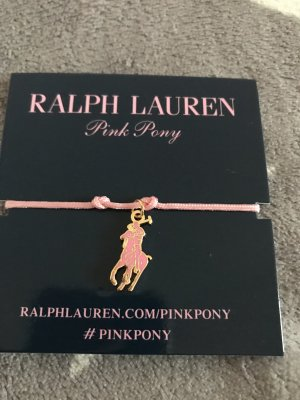 Ralph Lauren  Pink Pony Charity Armband in Rosa neu mit Verpackung