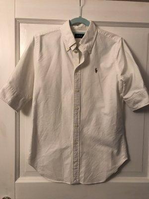Ralph Lauren Polo Bluse Hemd weiß Gr. S
