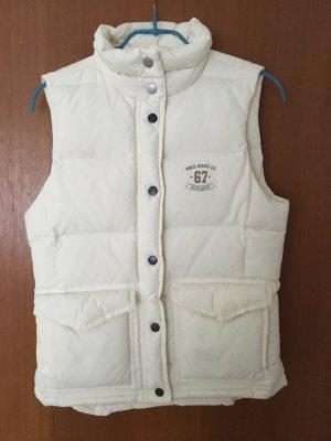 Polo Jeans Co. Ralph Lauren Gilet en duvet blanc cassé