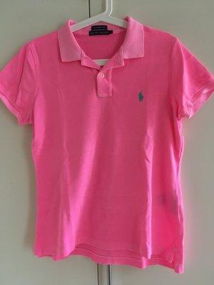 Ralph Lauren Camiseta tipo polo rosa-rosa neón Algodón