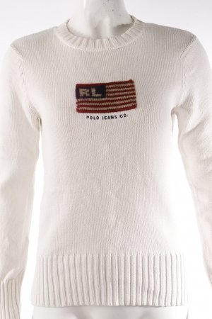 Ralph Lauren Polo Jeans Co. Strickpullover mit Flagge