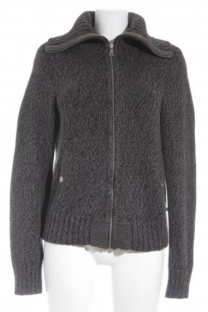 Ralph Lauren Polo Jeans Strickjacke anthrazit-grau meliert Casual-Look