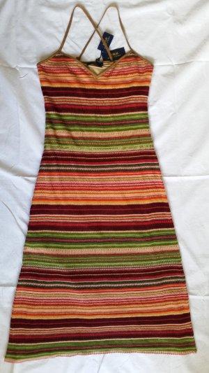Ralph Lauren Polo, Kleid, mehrfarbig, M, Leinen/Seide/Baumwolle, neu, € 750,-