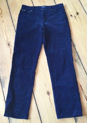 Polo Ralph Lauren Corduroy Trousers dark blue