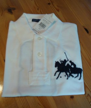 "Ralph Lauren Polo, Modell ""Mothers Polo"" Größe S / 36, white"