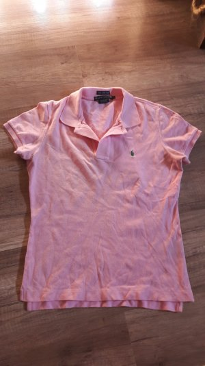 Ralph Lauren Polo Poloshirt Shirt Pikée Rosa Grün Pony