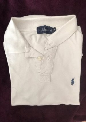Polo Ralph Lauren Polo shirt wit-donkerblauw