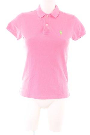 Ralph Lauren Polo-Shirt pink Casual-Look