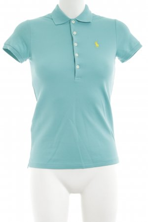 Ralph Lauren Polo-Shirt türkis Casual-Look