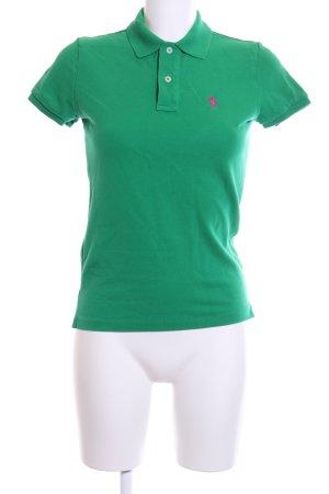 Ralph Lauren Polo-Shirt grün Casual-Look
