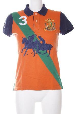 Ralph Lauren Camiseta tipo polo letras impresas look casual