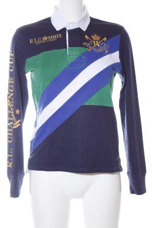 Ralph Lauren Camiseta tipo polo multicolor estilo deportivo