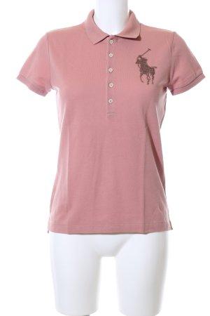 Ralph Lauren Polo Shirt pink casual look