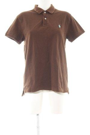Ralph Lauren Polo-Shirt bronzefarben Business-Look