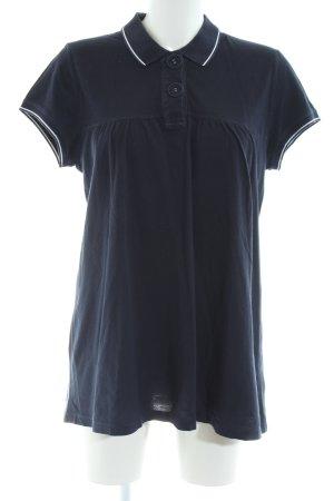Ralph Lauren Camiseta tipo polo azul look casual