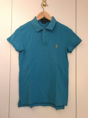 Ralph Lauren Polo bleu fluo-orange