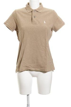 Ralph Lauren Polo-Shirt camel Business-Look
