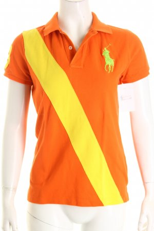 Ralph Lauren Polo-Shirt Colourblocking College-Look