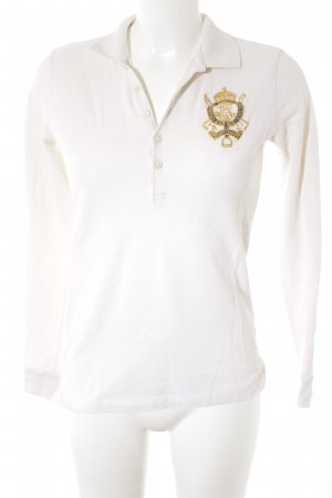 Ralph Lauren Polo-Shirt creme Casual-Look