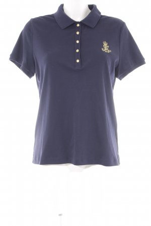 Ralph Lauren Polo-Shirt dunkelblau Casual-Look
