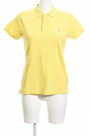 Ralph Lauren Polo-Shirt dunkelgelb Casual-Look