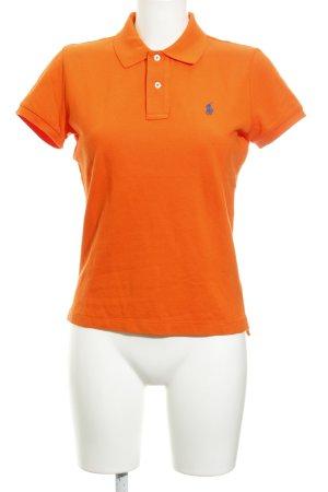 Ralph Lauren Polo-Shirt dunkelorange Casual-Look