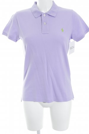 Ralph Lauren Polo-Shirt flieder-helllila Business-Look