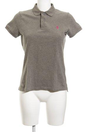 Ralph Lauren Polo-Shirt grau Business-Look