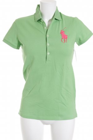 Ralph Lauren Polo-Shirt grün Casual-Look