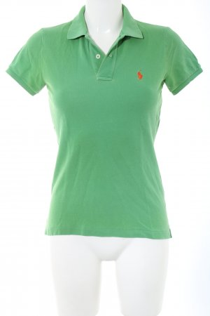 Ralph Lauren Camiseta tipo polo verde look casual