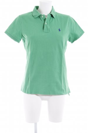 Ralph Lauren Polo-Shirt grün-dunkelblau Casual-Look