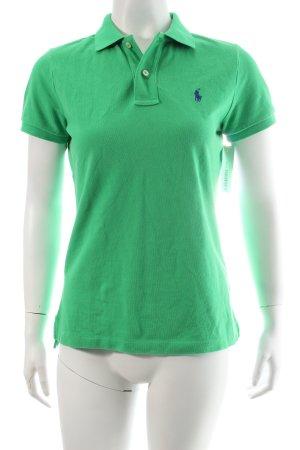 Ralph Lauren Polo-Shirt grün Logostickerei