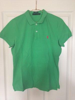 Ralph Lauren Polo-Shirt grün Slim-Fit
