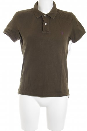 Ralph Lauren Polo-Shirt grüngrau Casual-Look