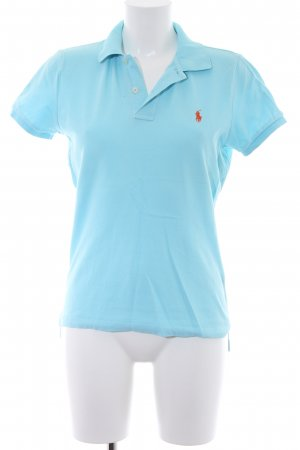 Ralph Lauren Polo-Shirt hellblau Casual-Look