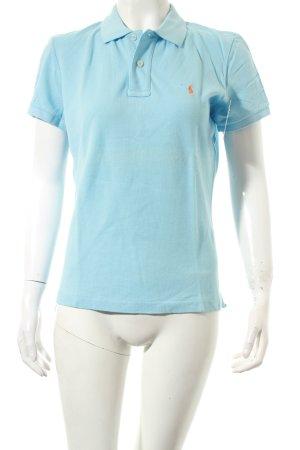 Ralph Lauren Polo-Shirt hellblau klassischer Stil